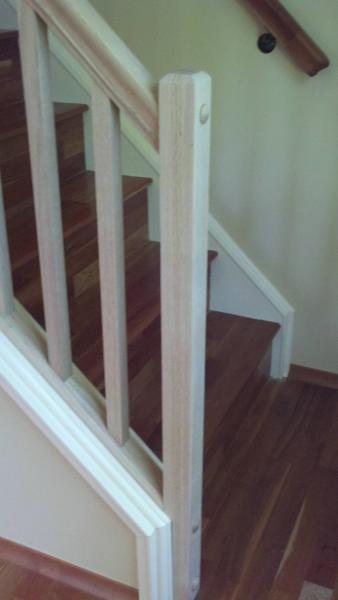stairway railing trim basic question DoItYourselfcom