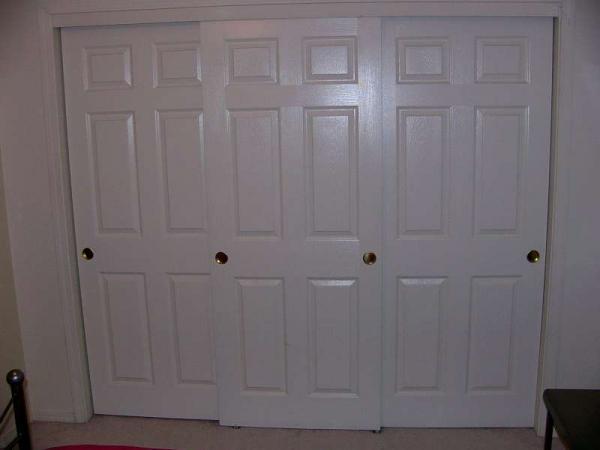 Three Sliding Closet Door Problem Doityourself Com Community Forums