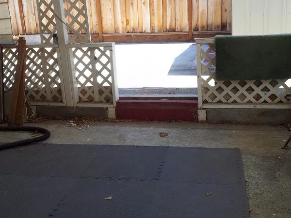 Ideas On Raising Backyard Patio Sunken Floor