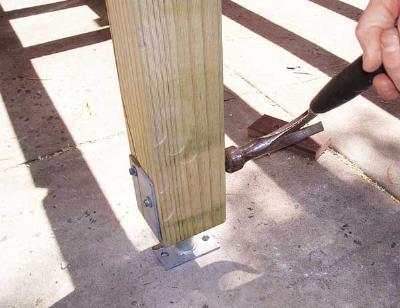 deck railing help community forums. Black Bedroom Furniture Sets. Home Design Ideas