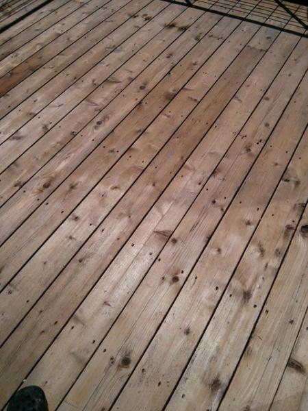 Low Patio Deck