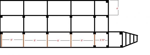 Widen Deck Support Spacing For Carport Use Doityourself Com Community Forums