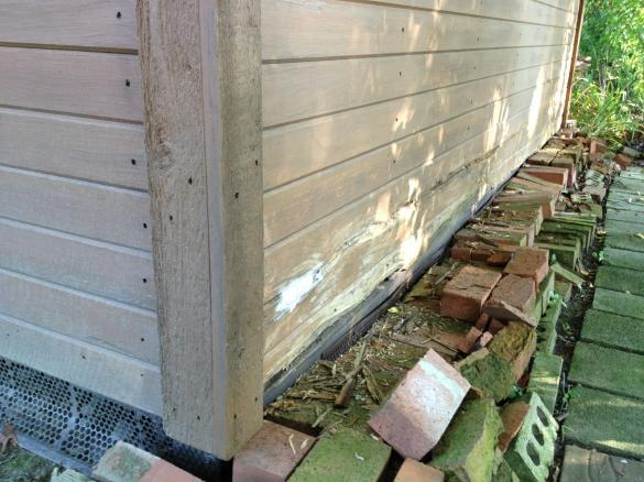 rotting wood on shed community forums. Black Bedroom Furniture Sets. Home Design Ideas