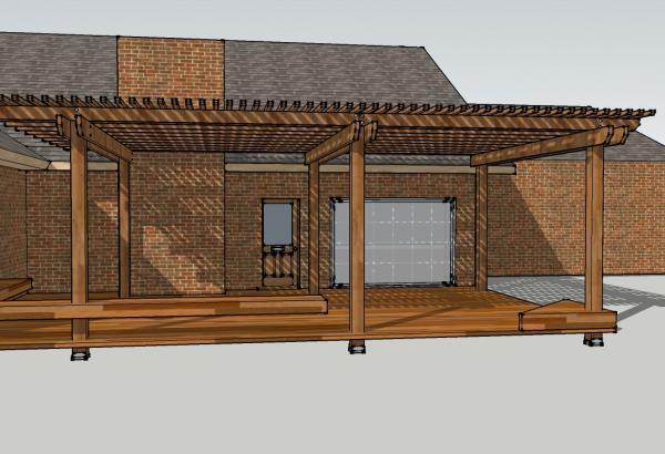 Pergola Design - DoItYourself.com Community Forums