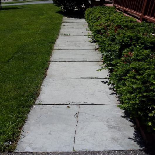 Walkway Re Surface Help Doityourself Com Community Forums