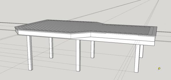 Landscape Fabric Under Deck : Under deck landscape fabric rocks doityourself