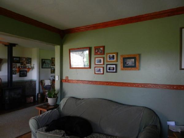 Painted Wood Walls Bedroom