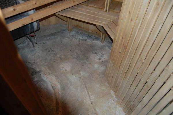 Sauna Concrete Floor Doityourself Com Community Forums