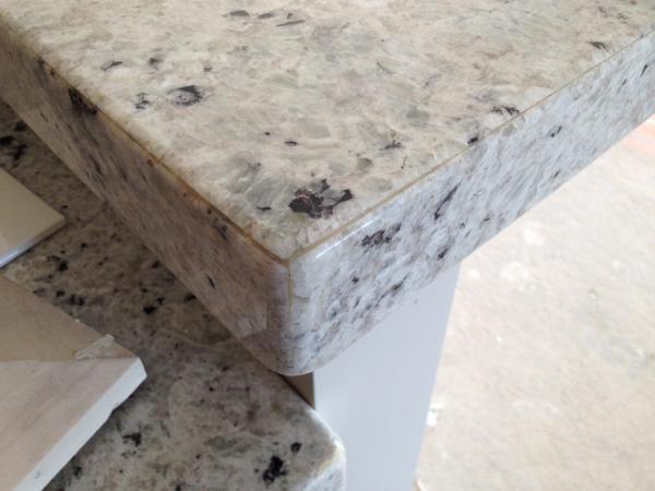 Mitered granite problem! - DoItYourself com Community Forums