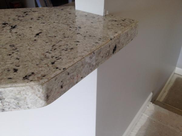 Mitered granite problem! - DoItYourself.com Community Forums