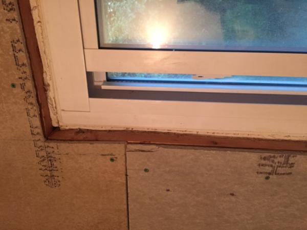 Bathroom Remodel Window Tile Question