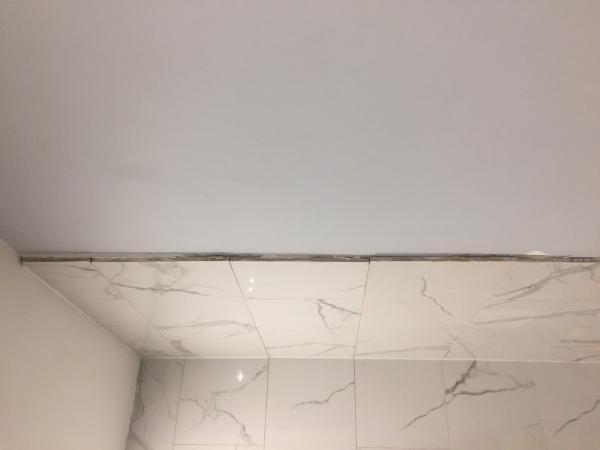 Tile Edge In Standup Shower Doityourself Com Community