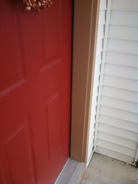 How to install storm door on door with sidelight - DoItYourself.com Storm Door Frame Installation on