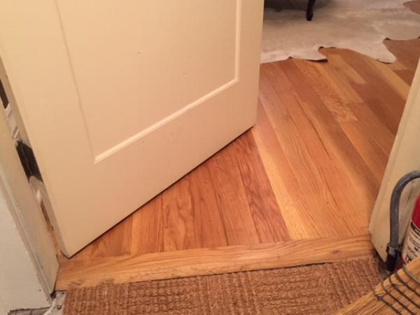 Door Sweep Uneven Floor W Variable Gap