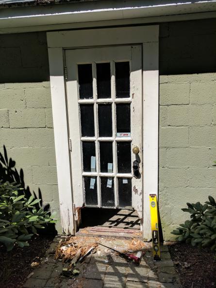 Replacing Very Old Garage Side Door Doityourself