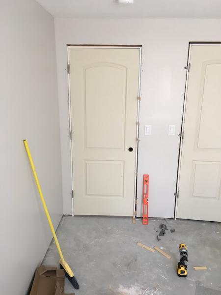 Installing Prehung Interior Door Into Nonplumb Rough Opening Community Forums
