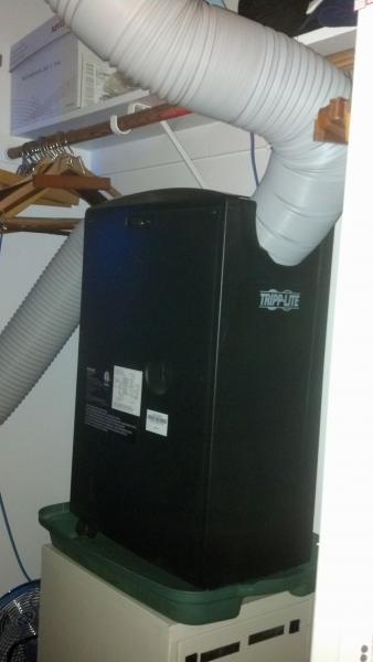 Portable Air Ventilator : Ventilation inlet question for portable ac doityourself