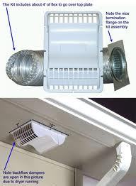 Installing exhaust fan in