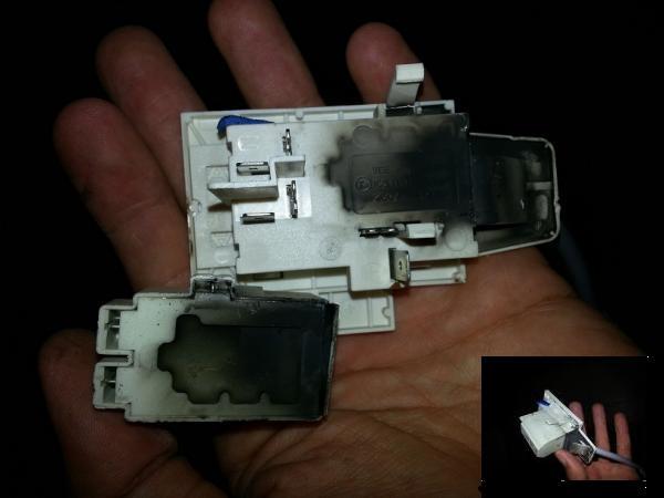 Bosch Dishwasher Back Melting And Cable Burning