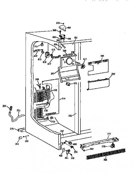 Kenmore Refrigerator Diagram Kenmore Refrigerator Parts ... on