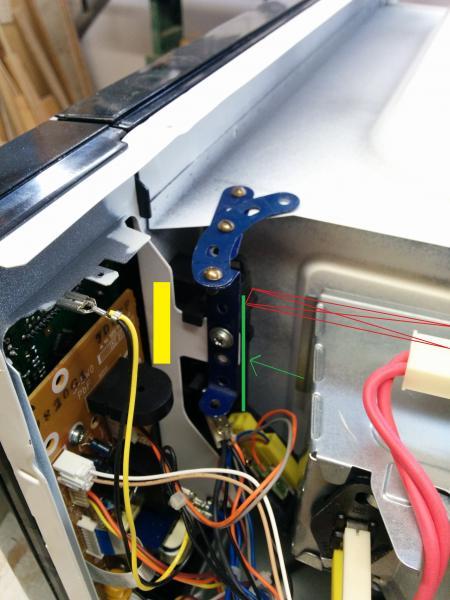 Problem With Door Latch Of Panasonic Microwave Model