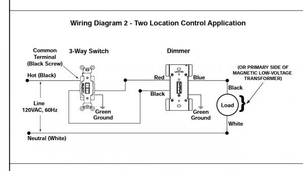 lutron wiring diagrams help deciphering odd    wiring    from old dimmer doityourself  help deciphering odd    wiring    from old dimmer doityourself