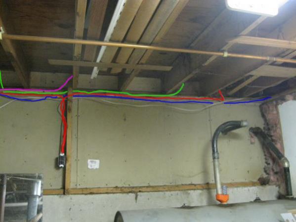 Basement Electrial Fun