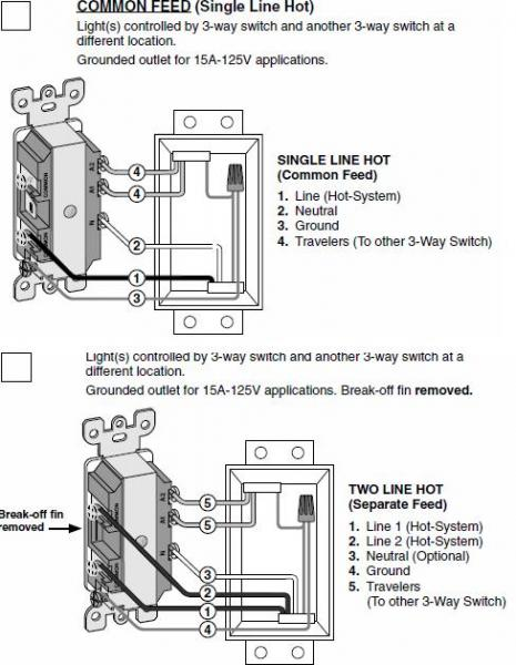 Leviton 15a 125v wiring diagram trusted wiring diagram replacing a 3 way switch with a combo 3way switch outlet genteq wiring diagrams leviton 15a 125v wiring diagram cheapraybanclubmaster Images