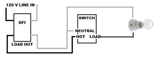 wiring a switch  light first