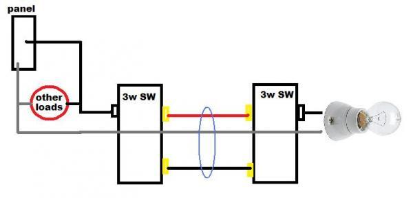 three way switch connundrum