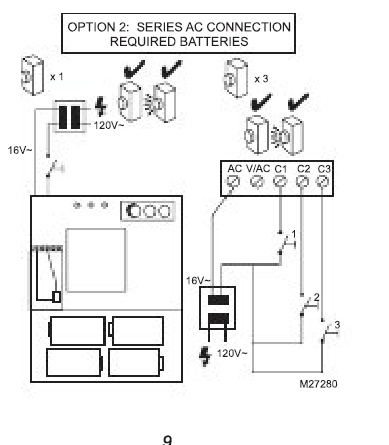 517835 Doorbell Wiring Question on 1 switch 2 lights wiring diagram