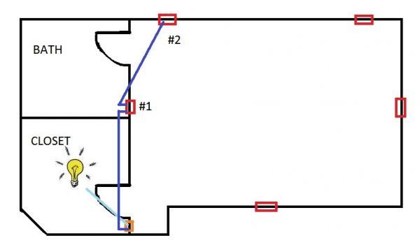 dead switch in master bedroom  please help