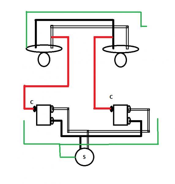 Very) uncommon 3-way light circuit? - DoItYourself.com Community Forums