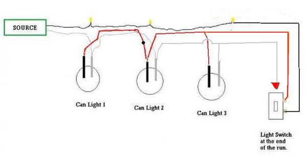 Wiring Recessed Lights