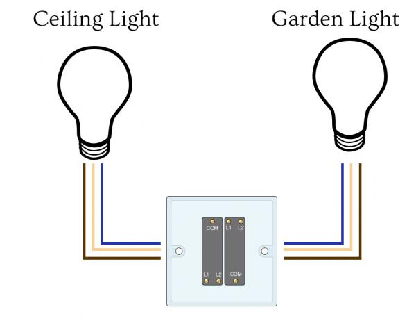 Dual Light Switch Wiring: outside double light switch wiring diagram - nilza, Wiring diagram,Lighting
