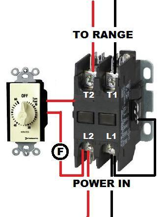 39634d1412736392 wiring contactor timer cont_timer wiring a contactor on a timer doityourself com community forums 240 volt contactor wiring diagram at eliteediting.co