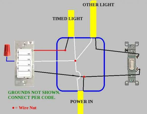 [DHAV_9290]  Motion sensor light switch wiring - DoItYourself.com Community Forums | Ac Dc Light Wiring |  | DoItYourself.com