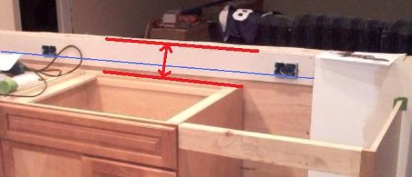 Kitchen countertop-receptacle height - DoItYourself.com Community ...