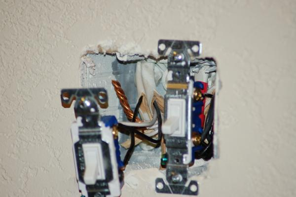 Wiring A Double Gang Switch Box