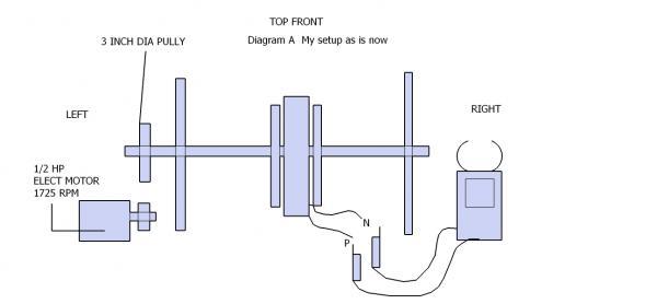 homemade generator. Name: GENERATOR DIAGRAM C.jpg Views: 1568 Size: 13.1 KB Homemade Generator