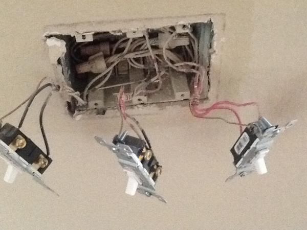 Gfi Breaker Tripped When Installing Ceiling Fan And Won T Reset Doityourself Com Community Forums