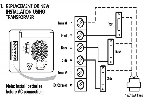 Rewiring Old Doorbell Auto Electrical Wiring Diagram