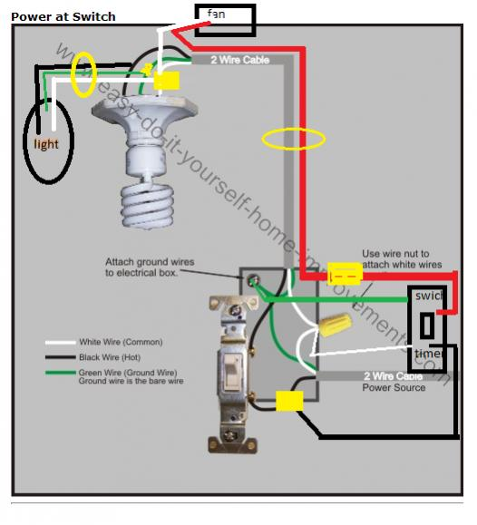 need a wire diagram to understand this doityourself com wiring bathroom fan and light