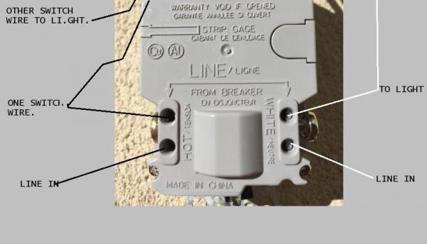 need help with wiring a gfci combo switch outlet into. Black Bedroom Furniture Sets. Home Design Ideas