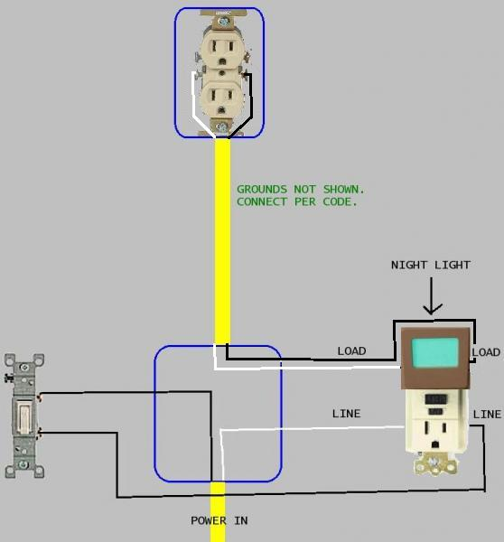 57443d1444937709 wiring diagram 20a gfi outlet switch x wiring diagram for 20a gfi outlet with switch doityourself com how to wire a gfci outlet diagram at bayanpartner.co
