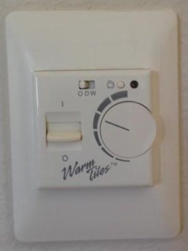 Warm Tiles Control Clicking Doityourself Com Community