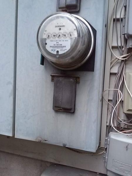 Electric Meter Panel : Service meter panel shut off doityourself community