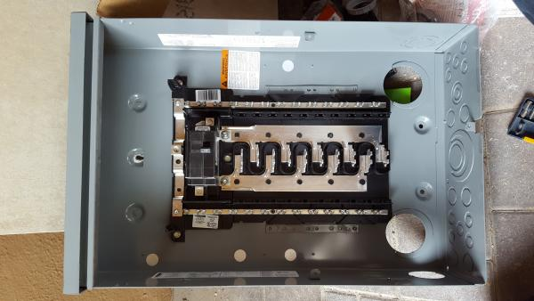 Can This Homeline 100a 20circuit Load Center Be Using As A