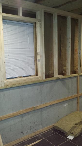 shallow 1 gang for basement wall community