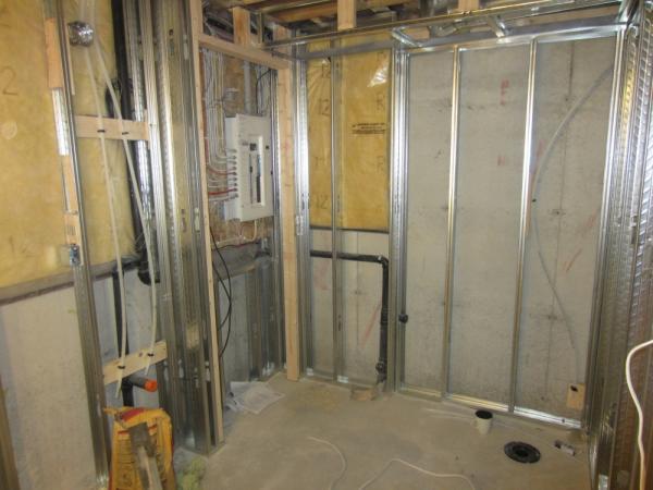 Distance between Electrical panelboard and bathroom - DoItYourself ...